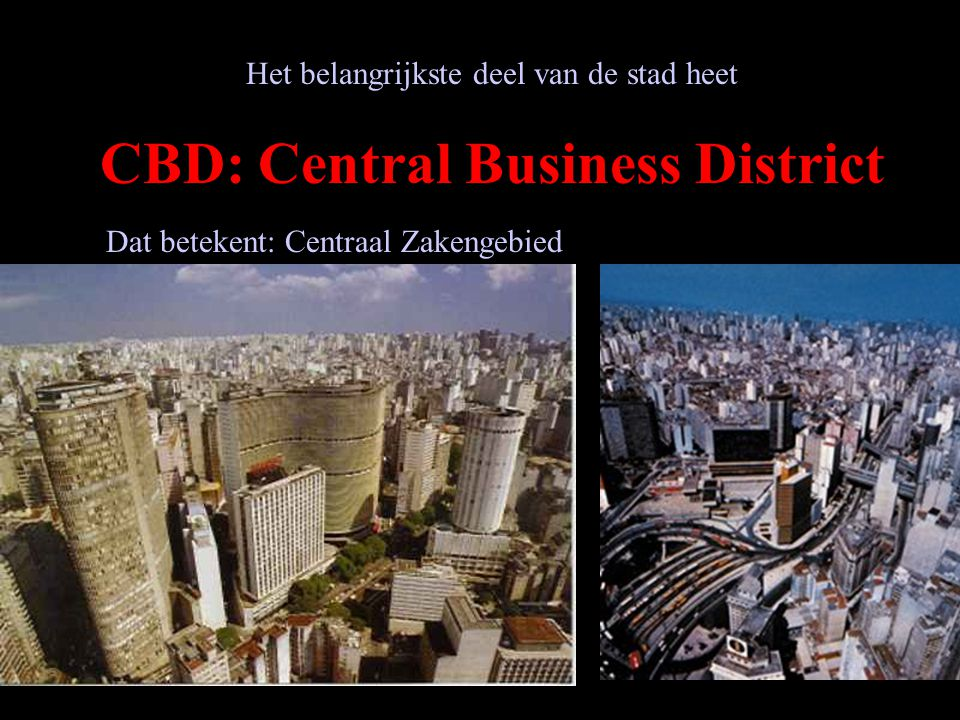 CBD: Central Business District