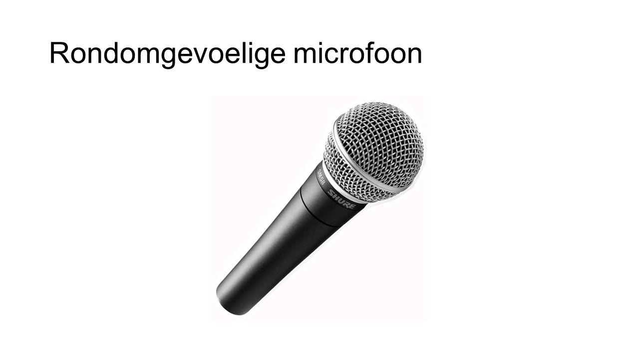 Rondomgevoelige microfoon