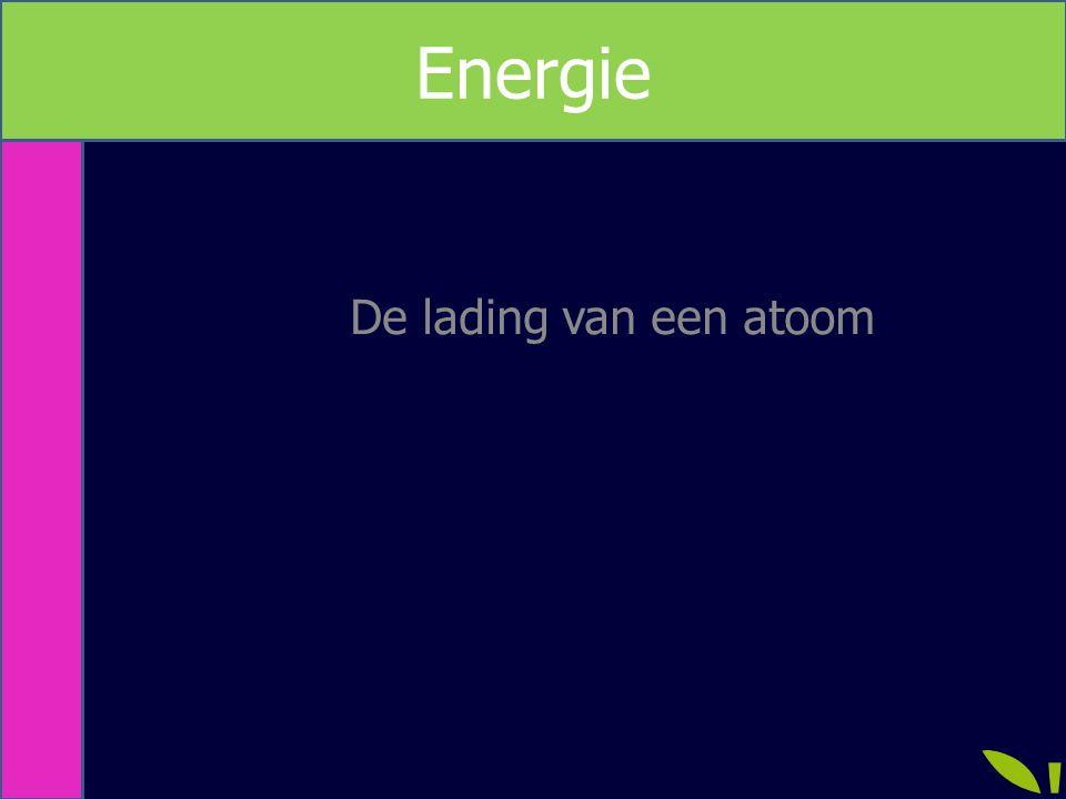 Energie De lading van een atoom