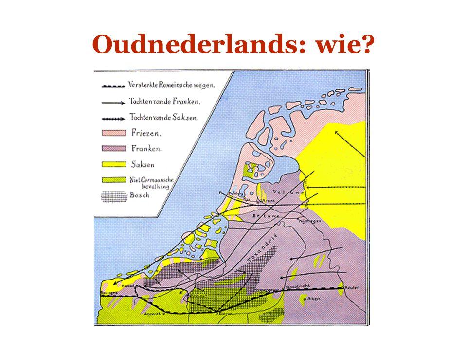 Oudnederlands: wie