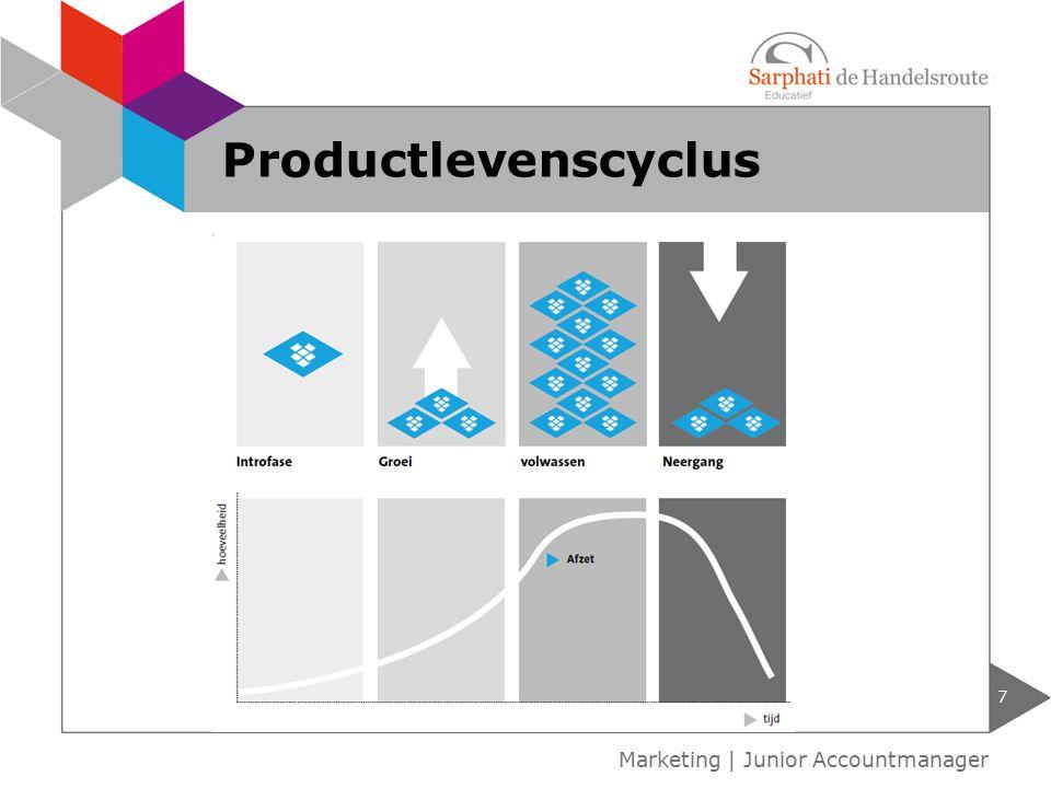 Productlevenscyclus Marketing | Junior Accountmanager