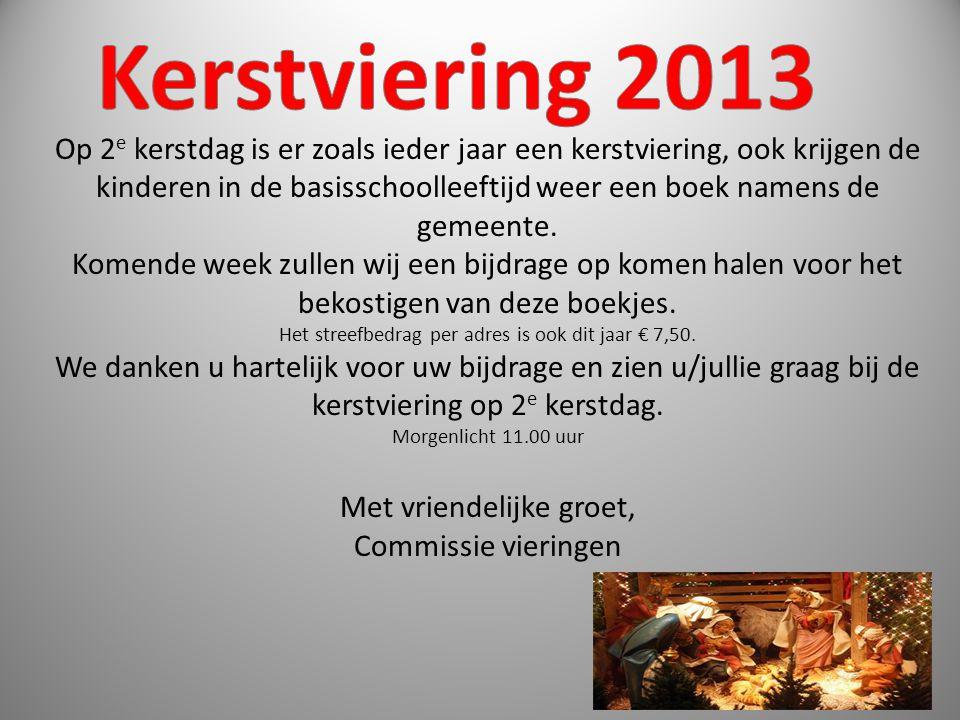 Kerstviering 2013