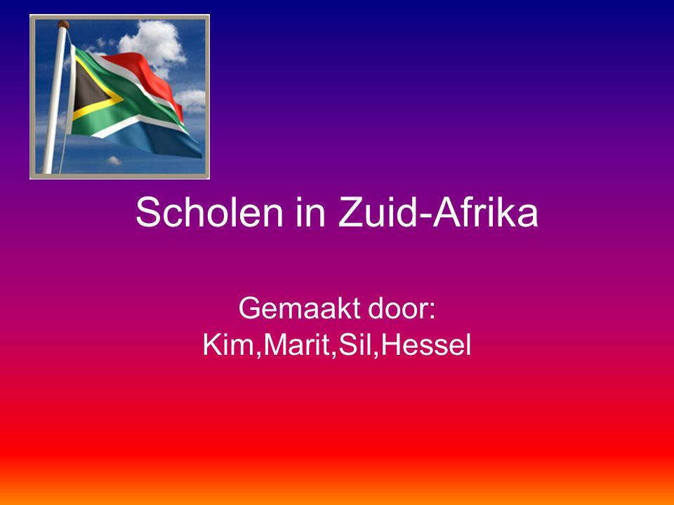 Scholen in Zuid-Afrika