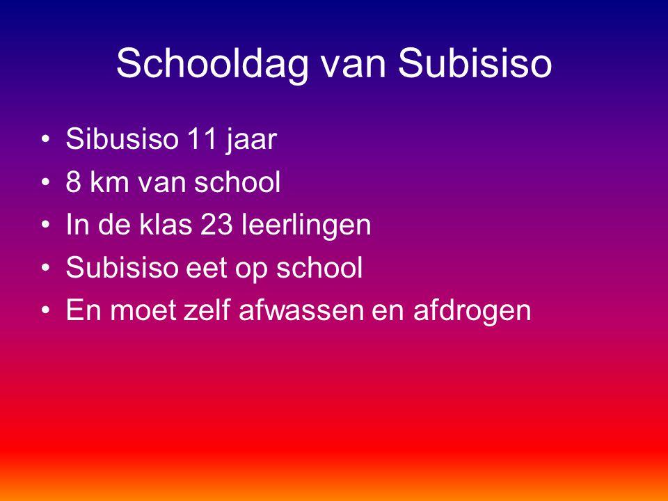 Schooldag van Subisiso