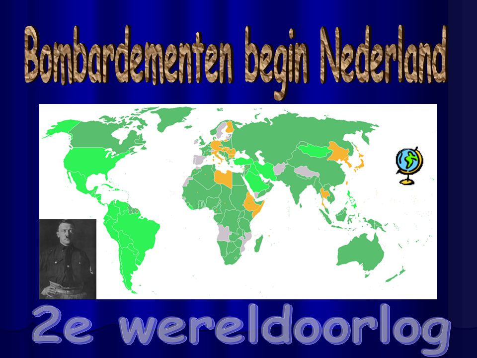 Bombardementen begin Nederland