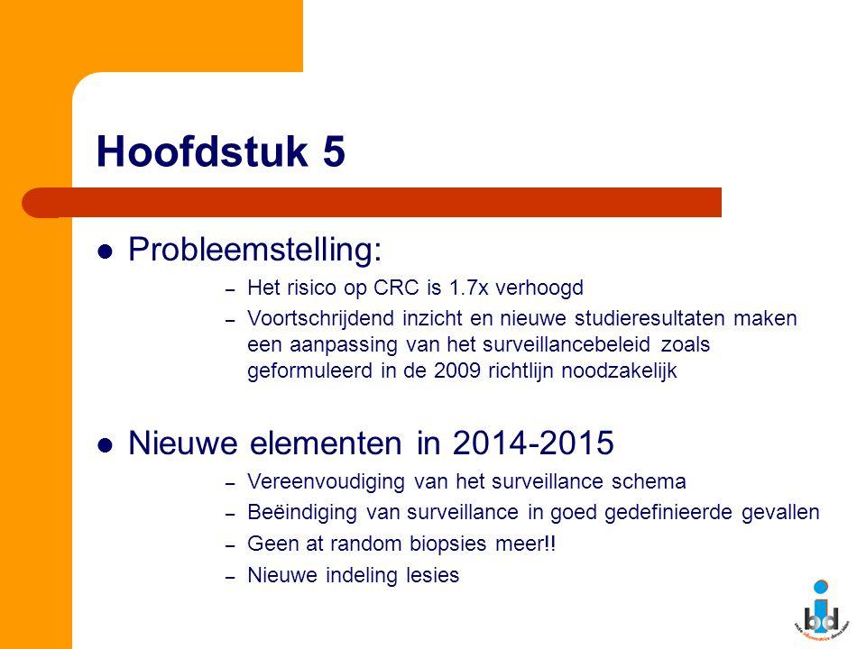 Hoofdstuk 5 Probleemstelling: Nieuwe elementen in 2014-2015