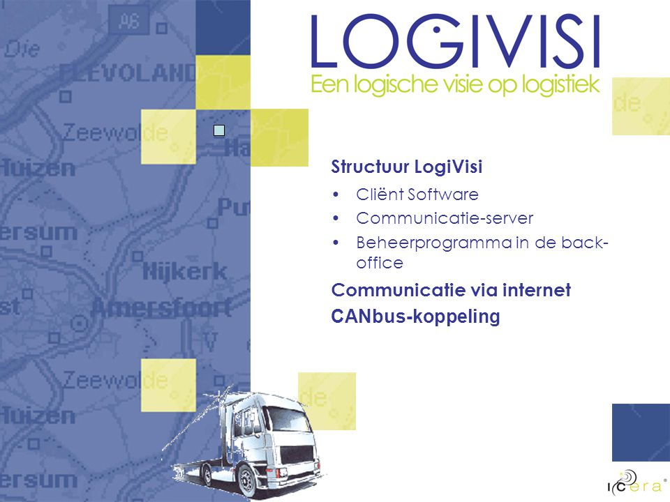 Communicatie via internet CANbus-koppeling