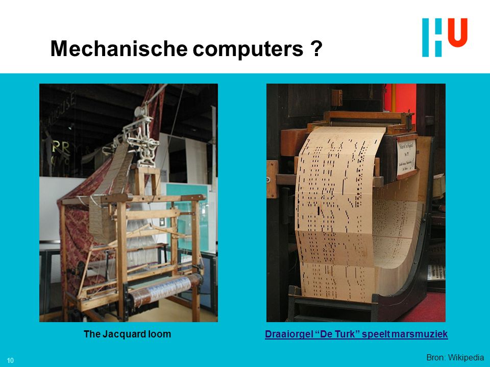 Mechanische computers