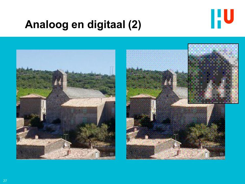 Analoog en digitaal (2)