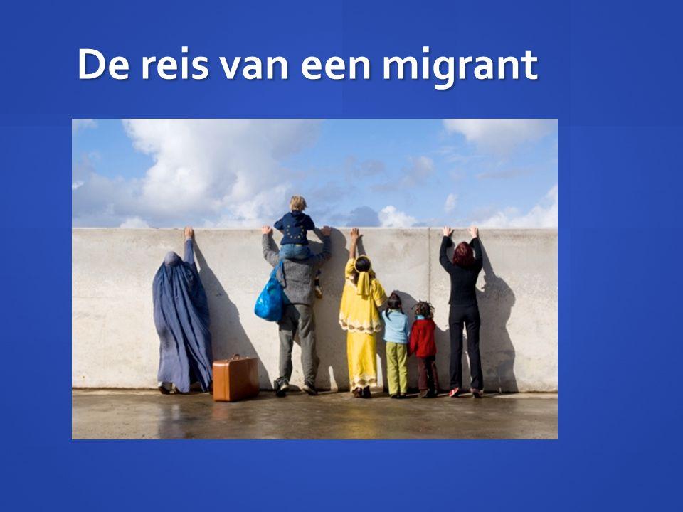 De reis van een migrant