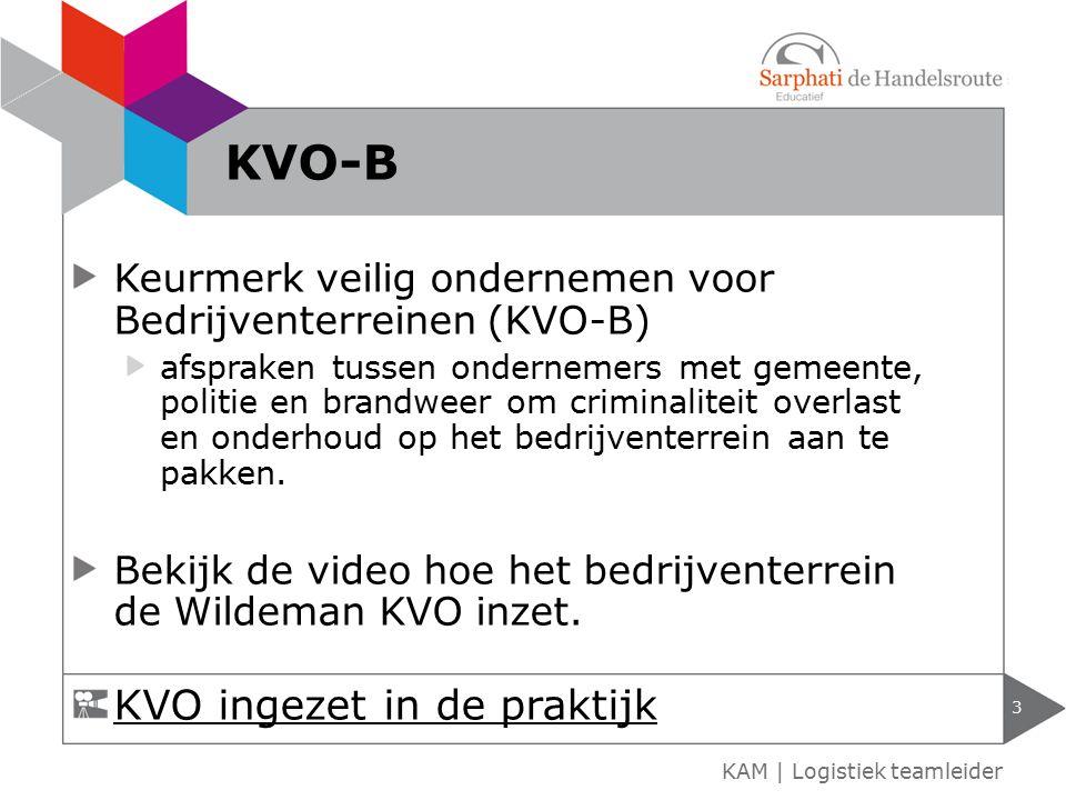 KVO-B KVO ingezet in de praktijk