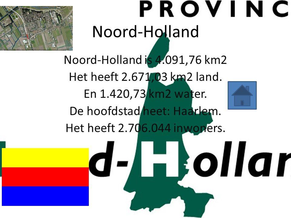 De hoofdstad heet: Haarlem.