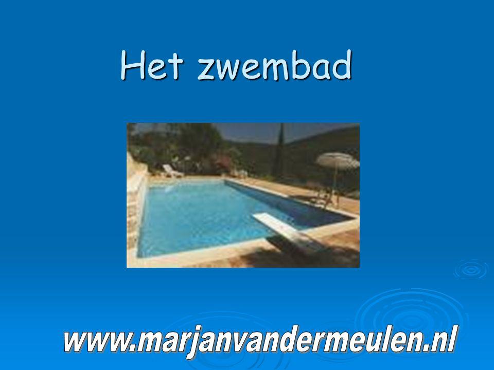 Het zwembad www.marjanvandermeulen.nl