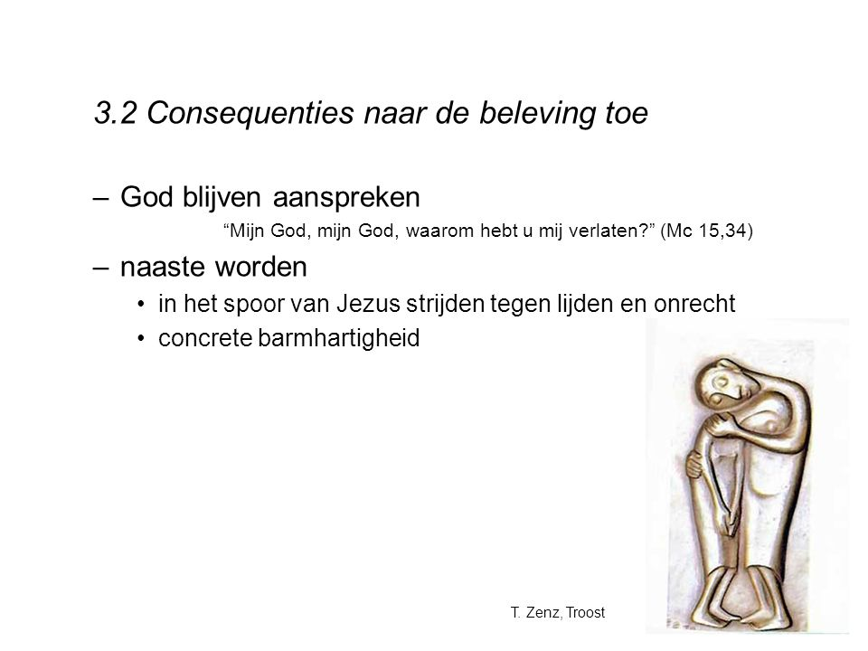 3.2 Consequenties naar de beleving toe