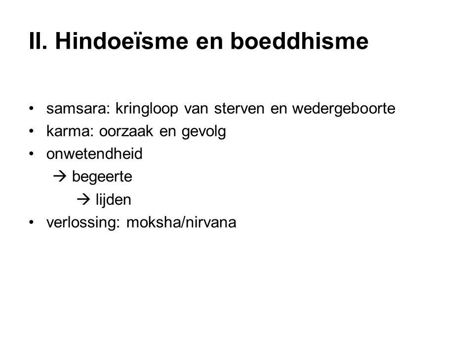 II. Hindoeïsme en boeddhisme