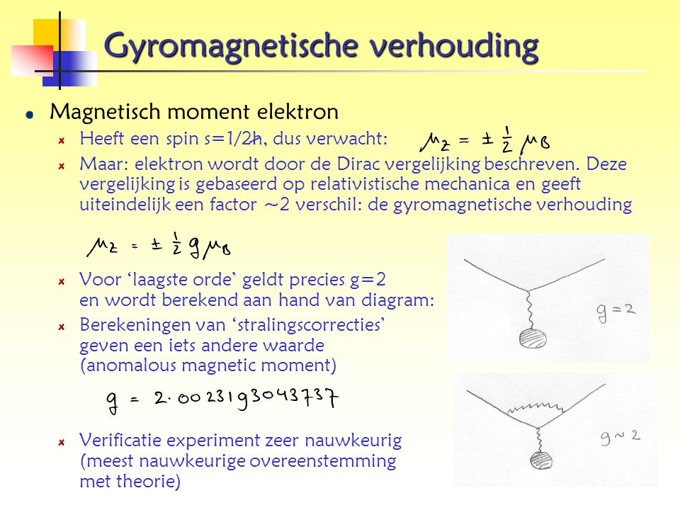 Gyromagnetische verhouding