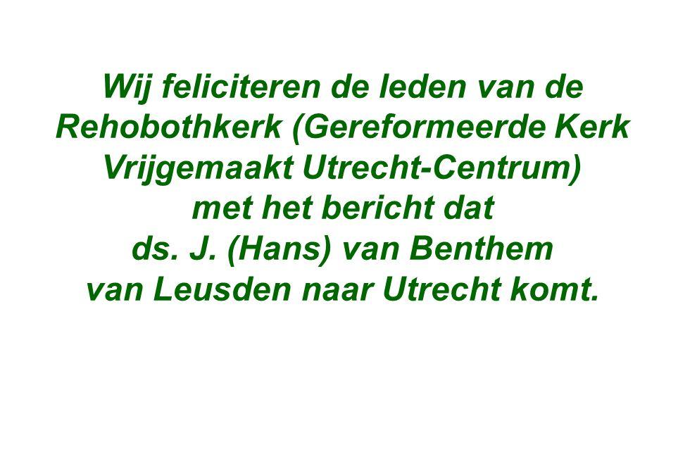 van Leusden naar Utrecht komt.