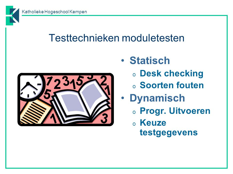 Testtechnieken moduletesten