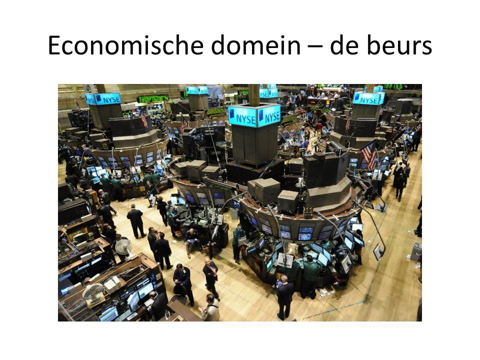 Economische domein – de beurs