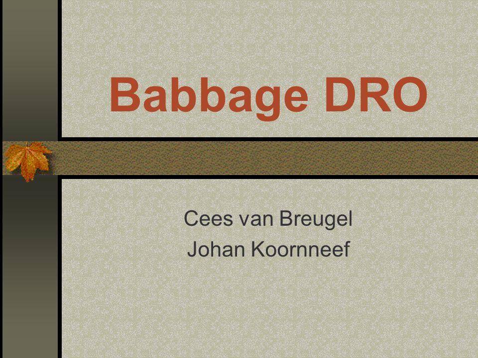 Cees van Breugel Johan Koornneef