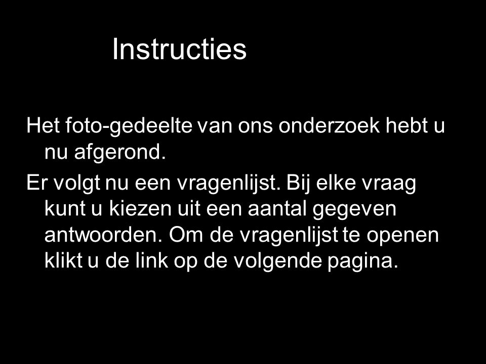 Instructiesnstructies