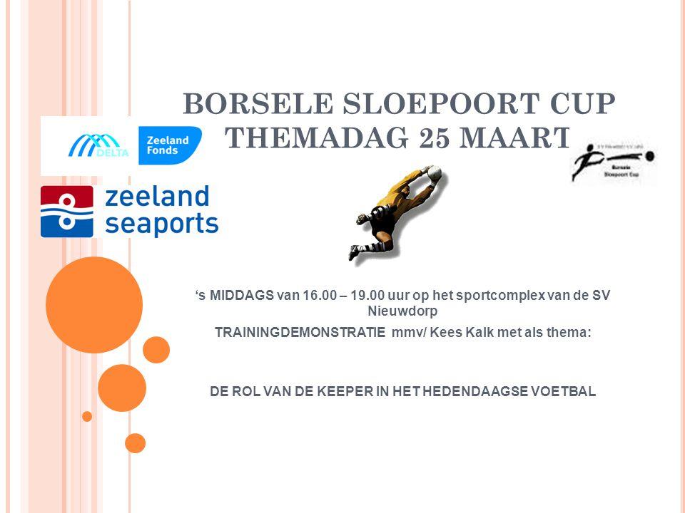BORSELE SLOEPOORT CUP THEMADAG 25 MAART