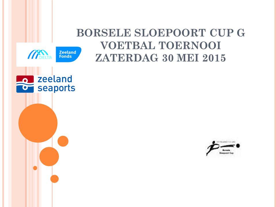 BORSELE SLOEPOORT CUP G VOETBAL TOERNOOI ZATERDAG 30 MEI 2015
