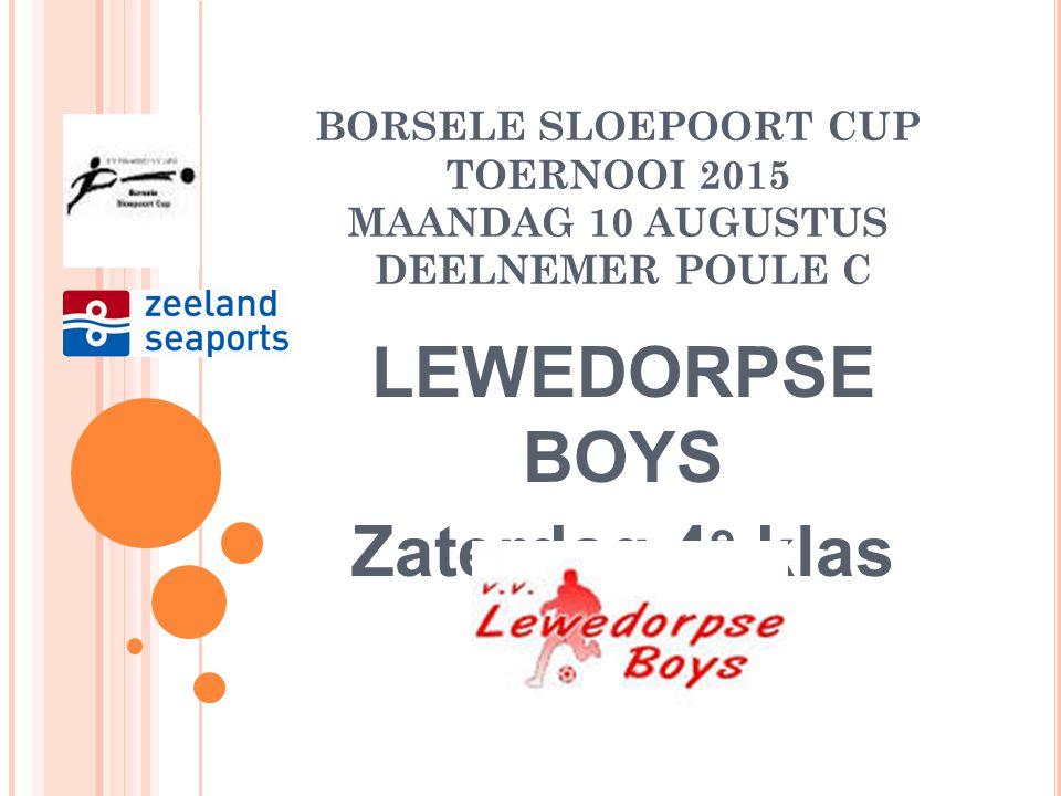 LEWEDORPSE BOYS Zaterdag 4e klas