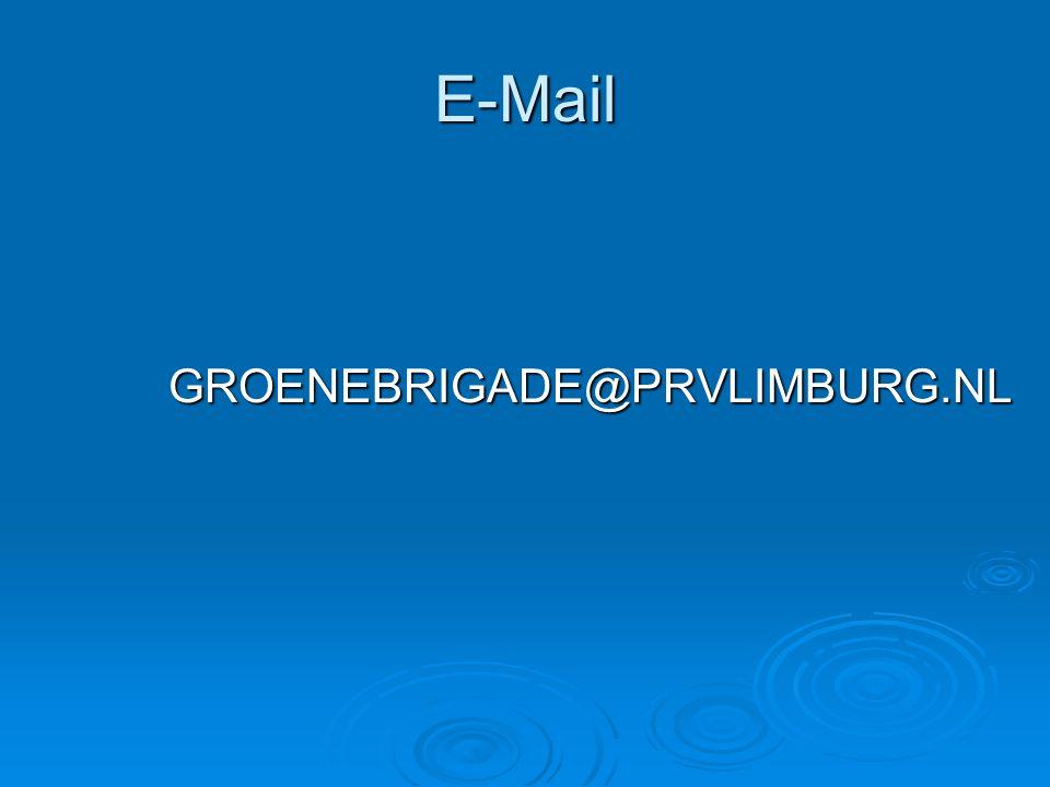 E-Mail GROENEBRIGADE@PRVLIMBURG.NL