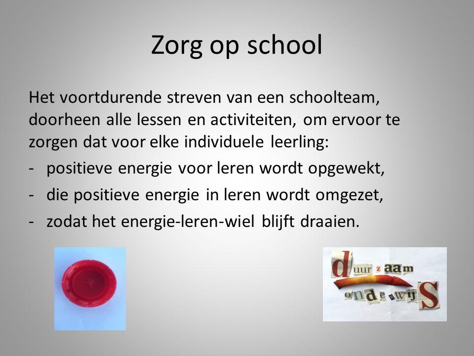 Zorg op school