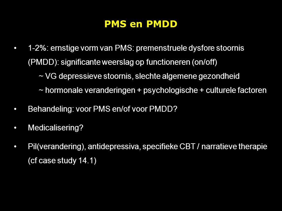 PMS en PMDD