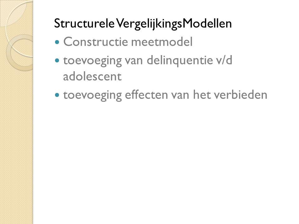 Structurele VergelijkingsModellen