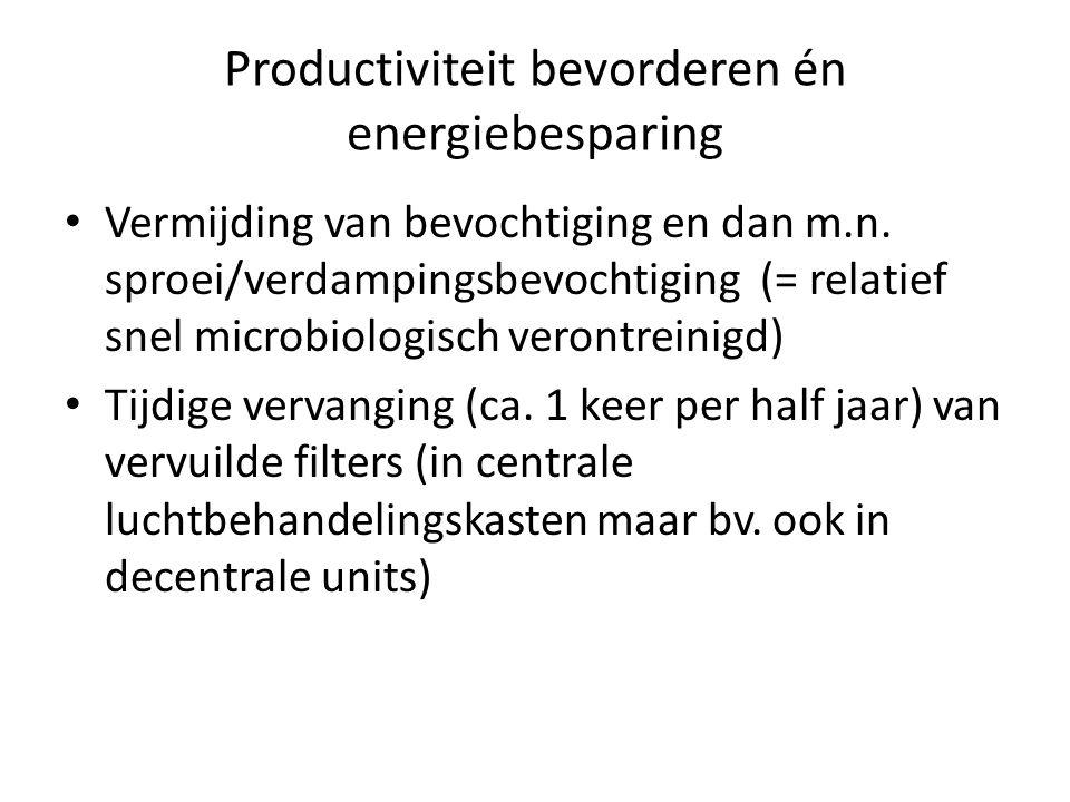 Productiviteit bevorderen én energiebesparing