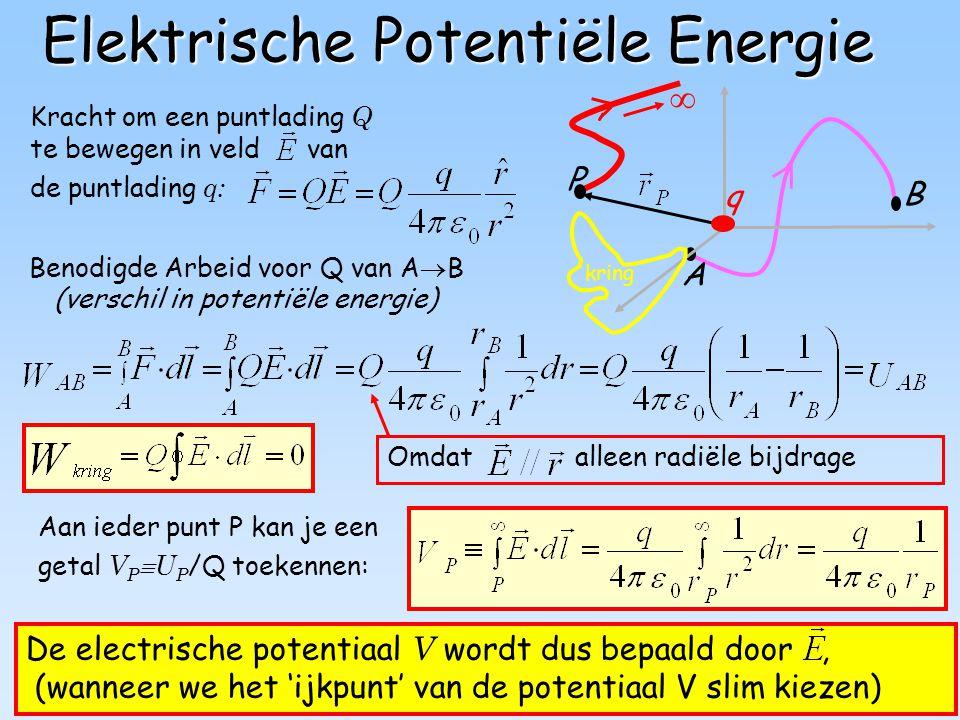 Elektrische Potentiële Energie