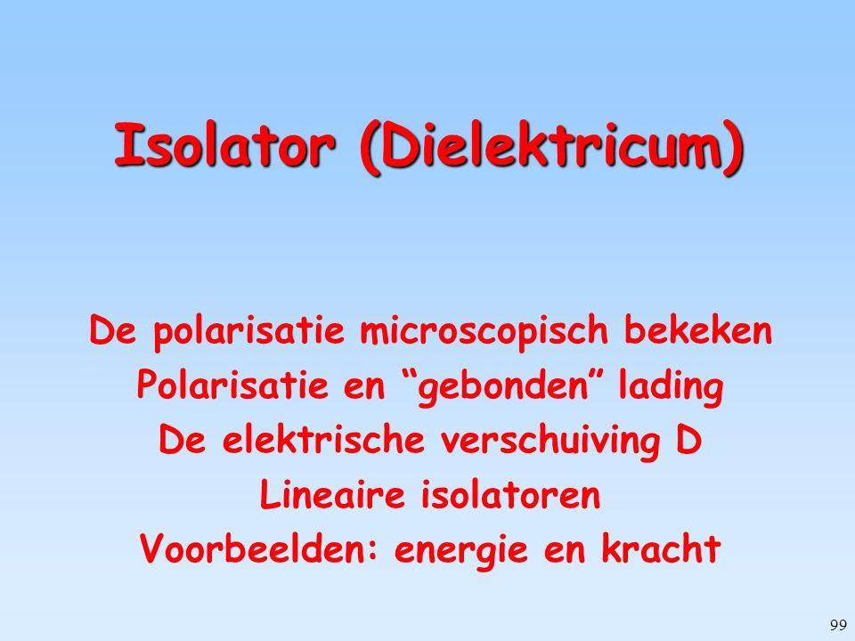 Isolator (Dielektricum)