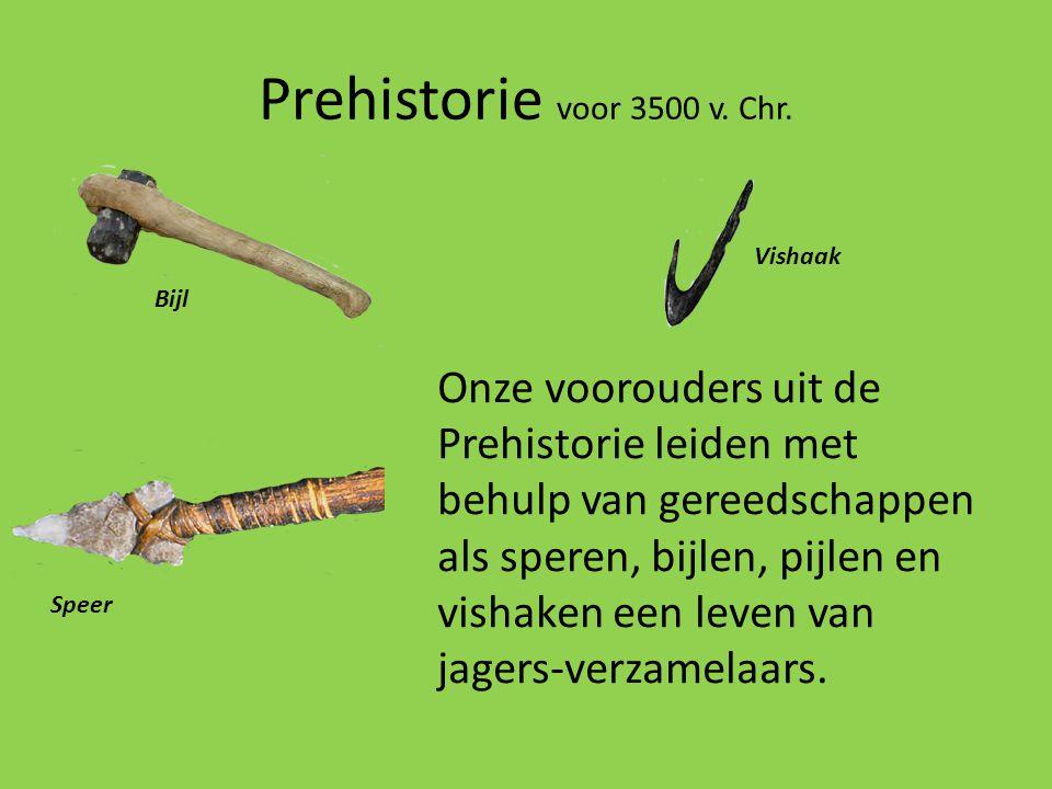 Prehistorie voor 3500 v. Chr. Vishaak. Bijl.
