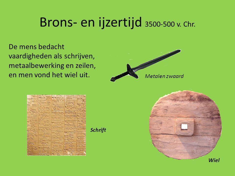 Brons- en ijzertijd 3500-500 v. Chr.