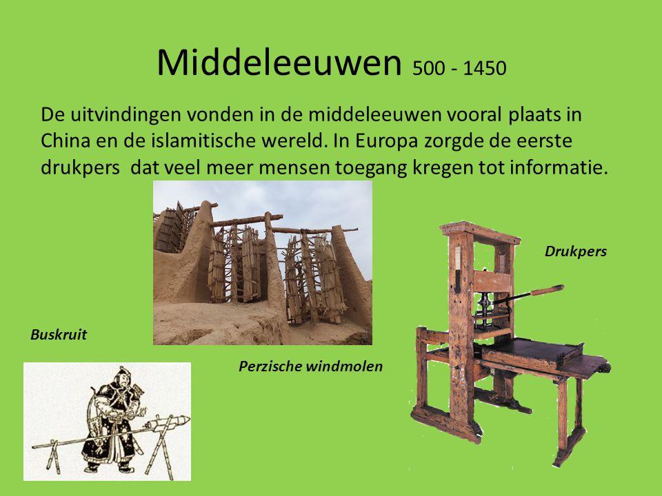 Middeleeuwen 500 - 1450