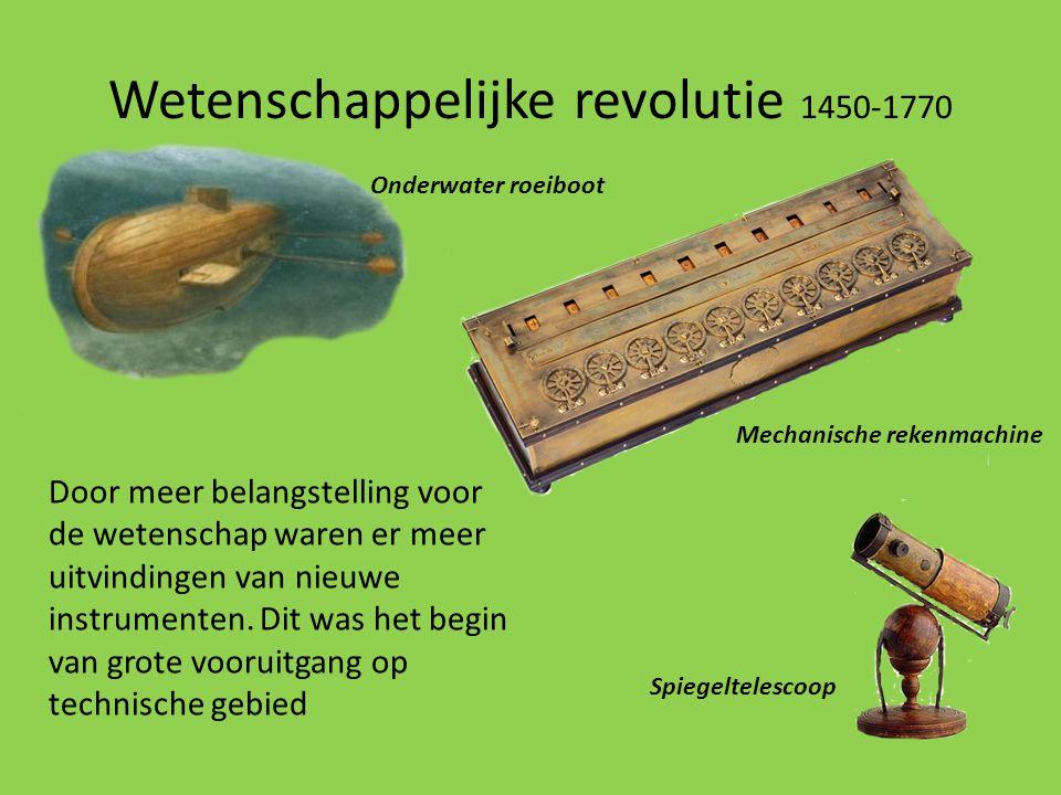 Wetenschappelijke revolutie 1450-1770