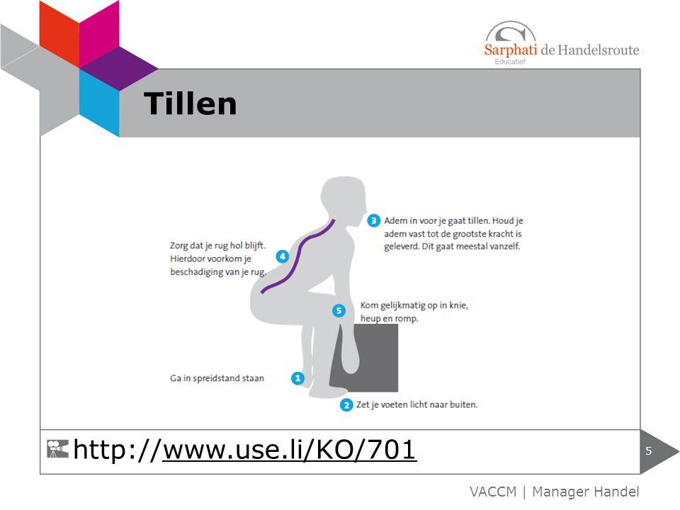 Tillen http://www.use.li/KO/701 VACCM | Manager Handel