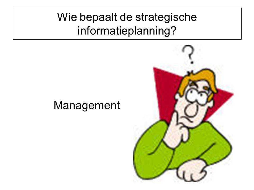 Wie bepaalt de strategische informatieplanning