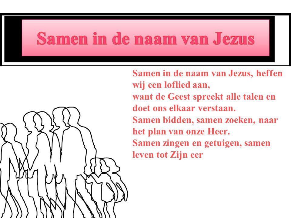 Samen in de naam van Jezus