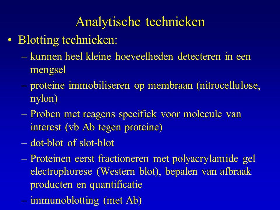 Analytische technieken