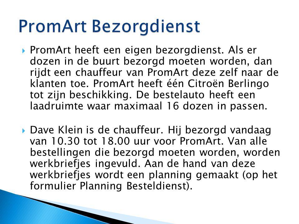 PromArt Bezorgdienst