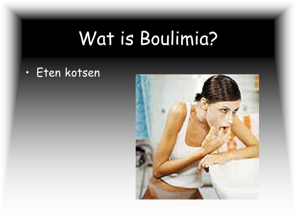 Wat is Boulimia Eten kotsen