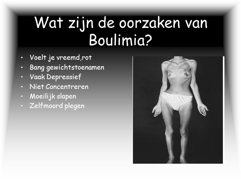 Wat zijn de oorzaken van Boulimia