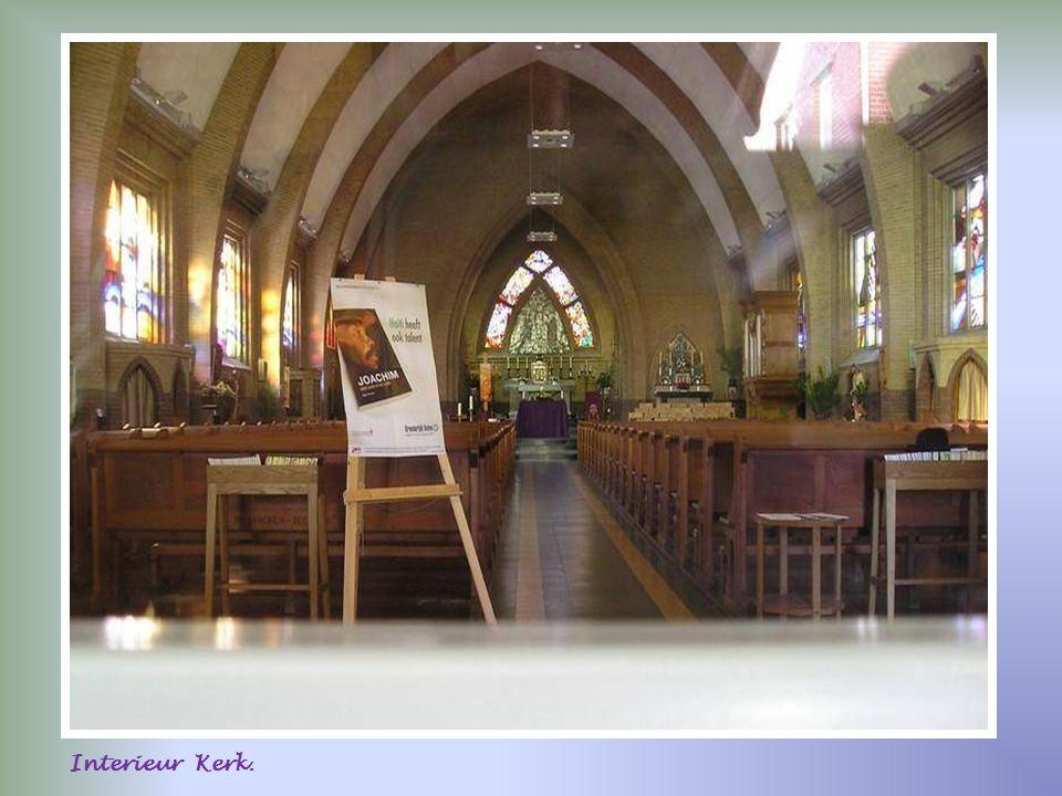 Interieur Kerk.