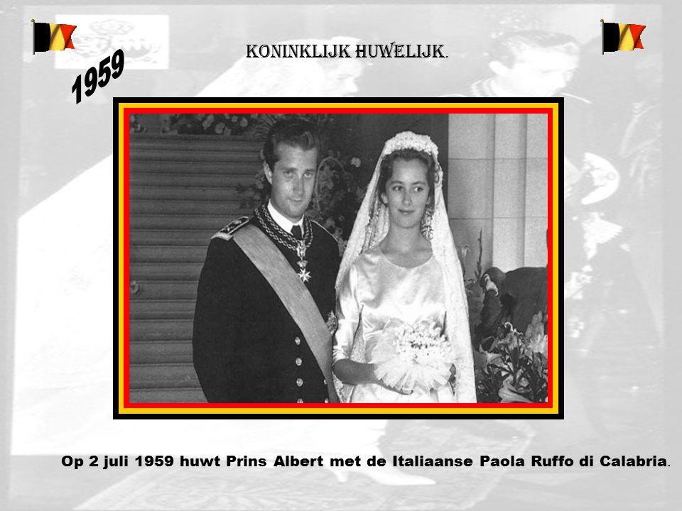 Koninklijk huwelijk. 1959.
