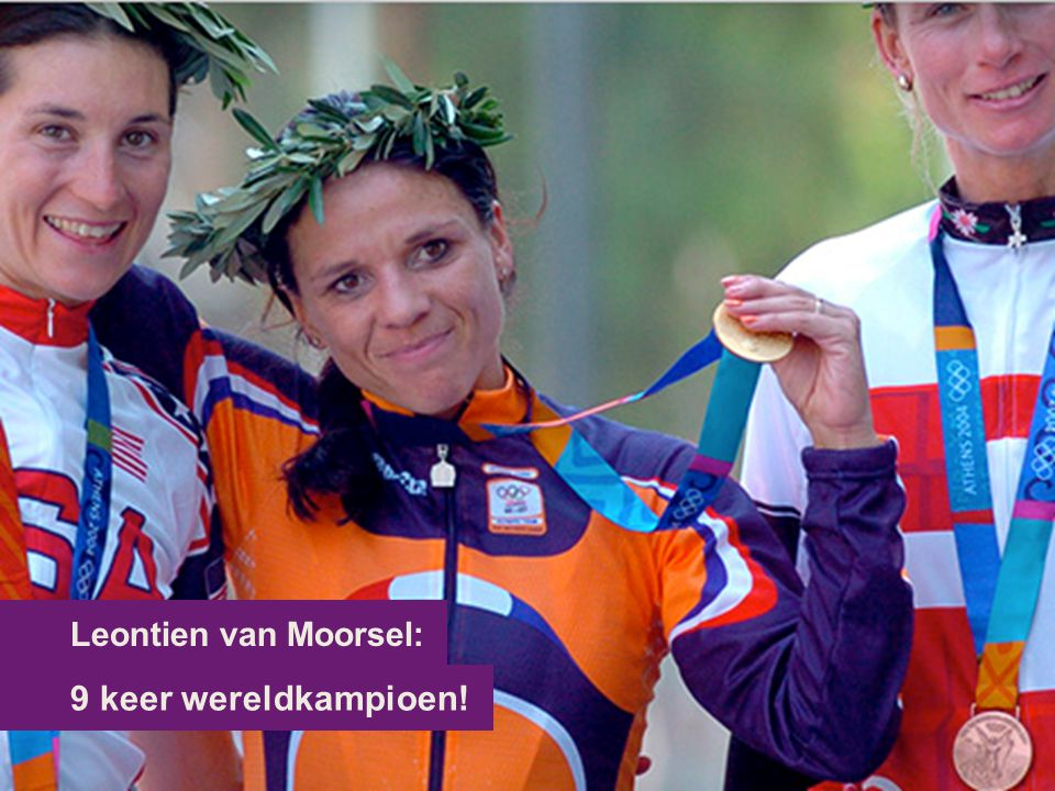 Leontien van Moorsel: 9 keer wereldkampioen!