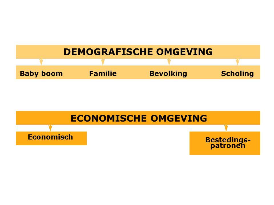 DEMOGRAFISCHE OMGEVING